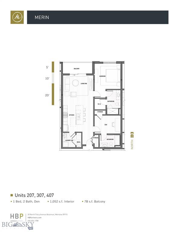 116 N Bozeman Avenue  203, Bozeman, MT 59715
