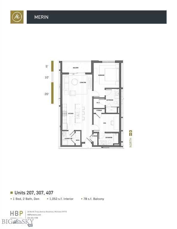 116 N Bozeman Avenue  207, Bozeman, MT 59715