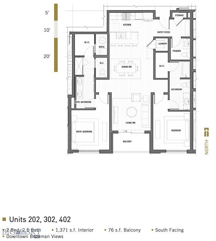 116 N Bozeman Avenue  202, Bozeman, MT 59715