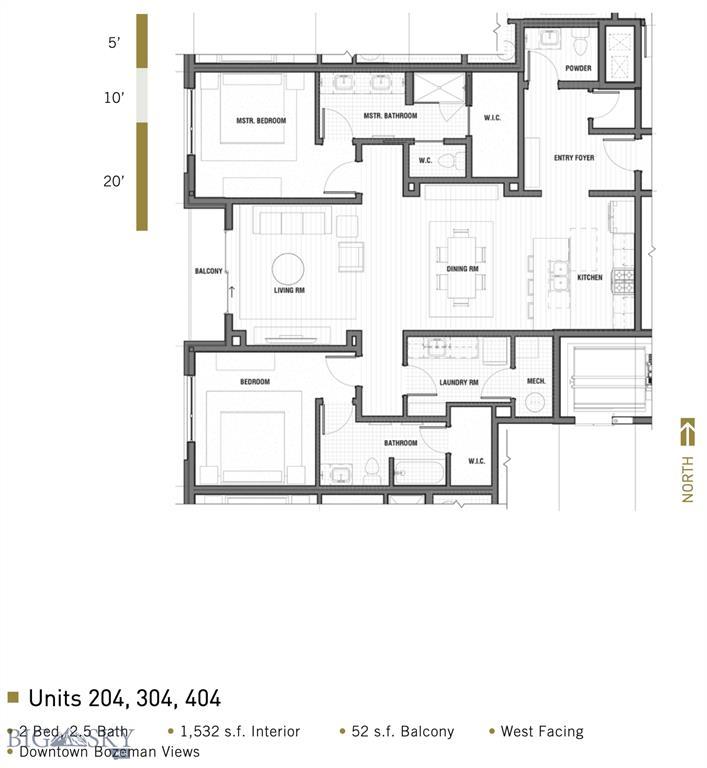 116 N Bozeman Avenue  204, Bozeman, MT 59715