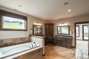 2803 Bridger Hills, Bozeman, MT - Master Bath