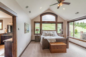 2803 Bridger Hills, Bozeman, MT - Master Bedroom