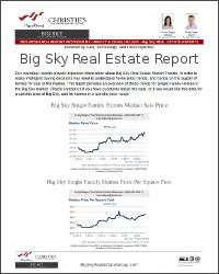 Big Sky Real Estate Report