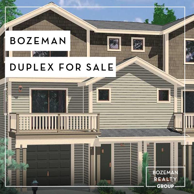 Townhouse Duplex For Rent: Bozeman Duplex For Sale