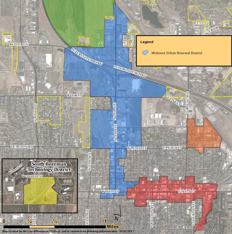 Bozeman Midtown Urban Renewal District