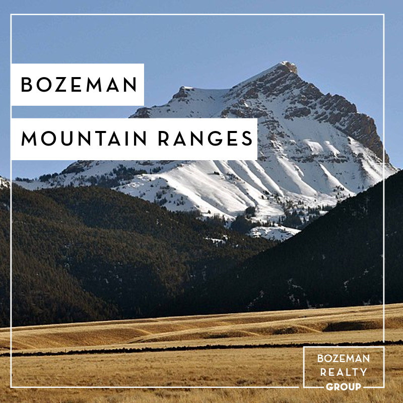 Bozeman Mountain Ranges