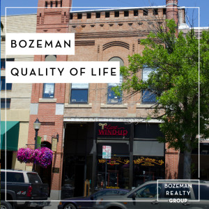 Bozeman Quality Of Life