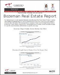 Bozeman Real Estate Report