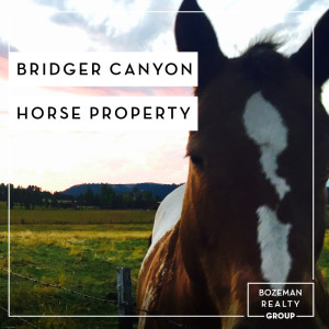 Bridger Canyon Horse Property