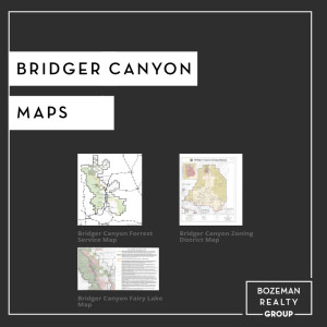 Bridger Canyon Maps