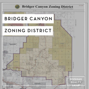 Bridger Canyon Zoning District