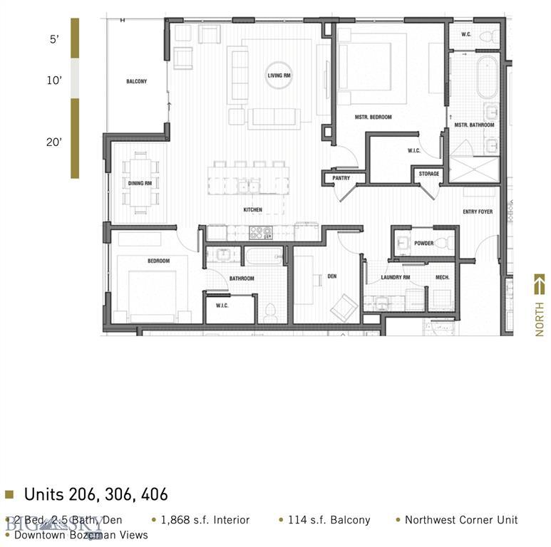 116 N Bozeman Avenue  206, Bozeman, MT 59715