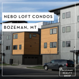 Nebo Loft Condos For Sale - Bozeman, MT