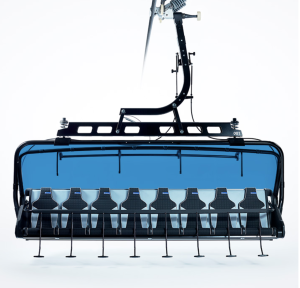 Ramcharger eight person chairlift