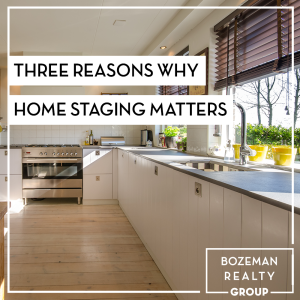 three reasons why home staging matters