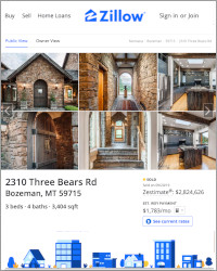 Zillow.com Website